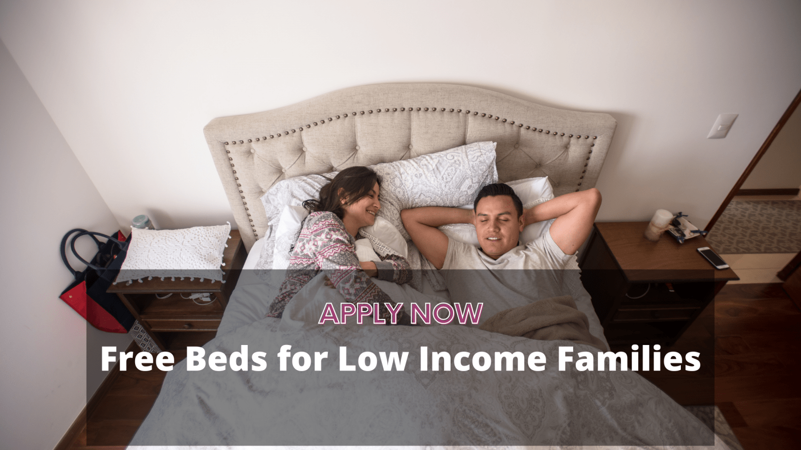 Free Beds for Low Income Families 2020 - 2021