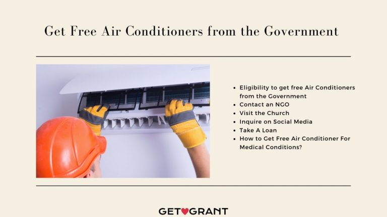 Get Free Air Conditioners from the Government 2021