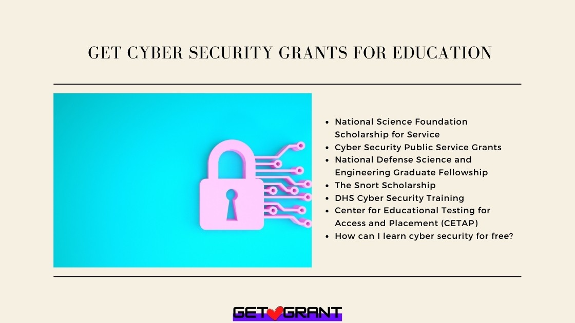 Get Cyber Security Grants for Education