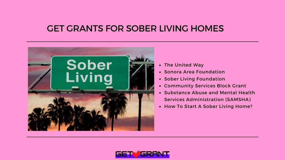 Get Grants For Sober Living Homes (4)