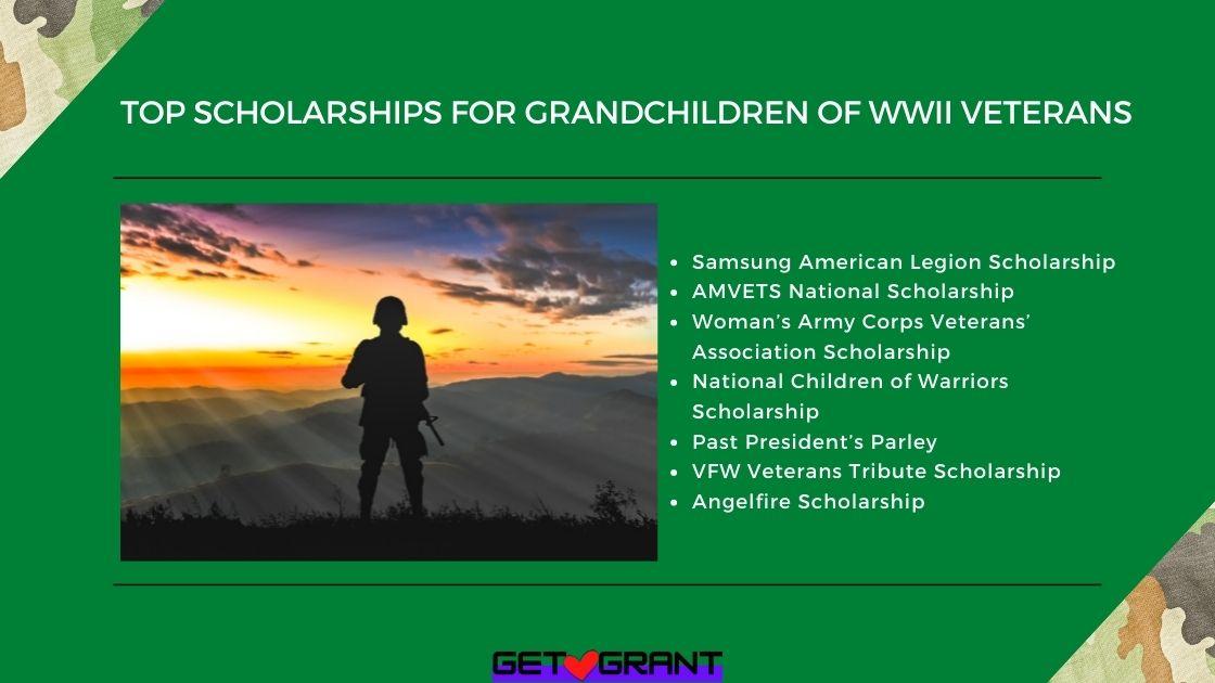 Top Scholarships for Grandchildren of WWII Veterans