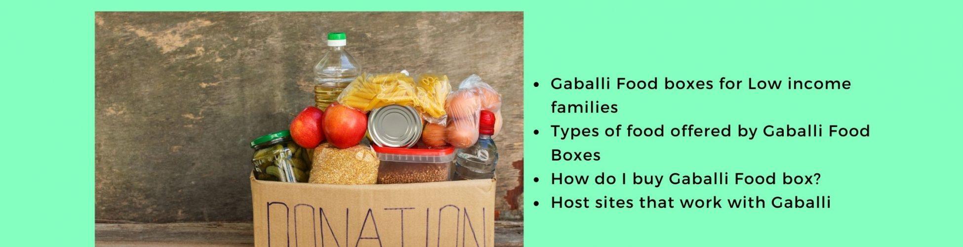 Gaballi Food Boxes