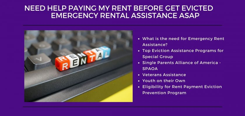 Need Help Paying My Rent Before Get Evicted