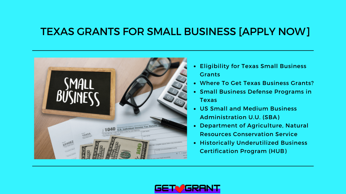 Texas Grants for Small Business [Apply Now]